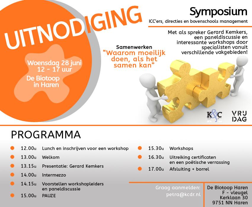Uitnodiging Symposium Samenwerken